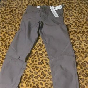 Grey Super Skinny Pants